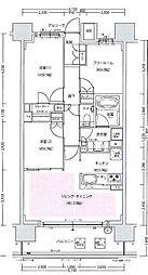 S-GLANZ大阪同心[10階]の間取り