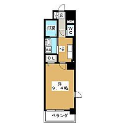 グランツコート[3階]の間取り