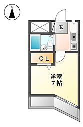 レントハウス[2階]の間取り