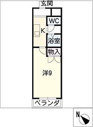 ボナール[1階]の間取り