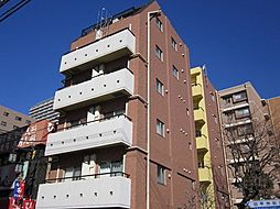 東京都府中市八幡町1丁目の賃貸マンションの外観