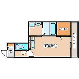 兵庫県神戸市長田区蓮宮通4丁目の賃貸アパートの間取り