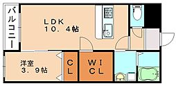 ARCBLISS飯塚[1階]の間取り