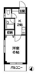 東京都墨田区太平3丁目の賃貸マンションの間取り