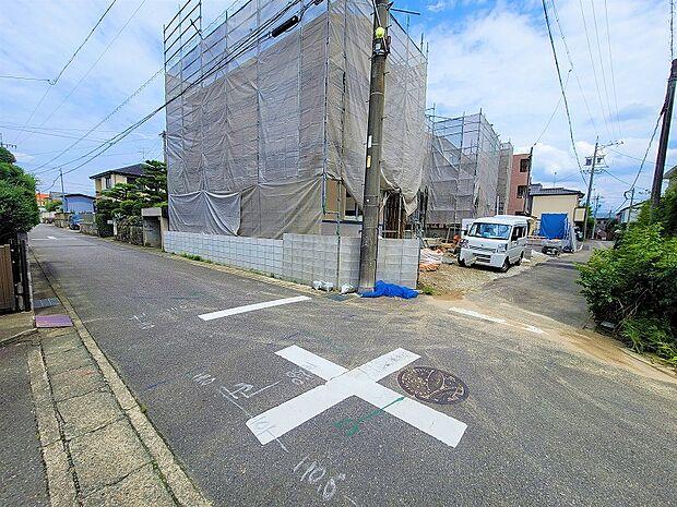 前面道路2021.7.10撮影