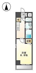 セジュール上飯田[3階]の間取り