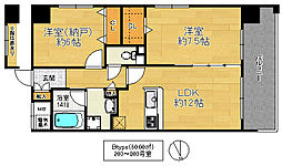 IB弐番館[7階]の間取り