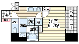アドバンス神戸アルティス[3階]の間取り