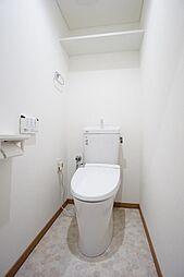 トイレ交換済。節水型のトイレです