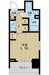KDXレジデンス板橋本町[0805号室]の間取り