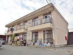 山梨県甲府市古上条町の賃貸アパートの外観