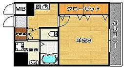 プレステージ1st[2階]の間取り
