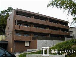 愛知県豊田市四郷町天道の賃貸マンションの外観