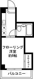 バロール横浜[1階]の間取り