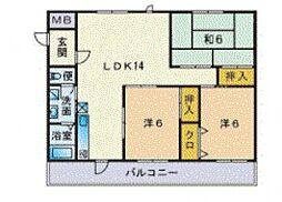 吉塚マンション[106号室号室]の間取り