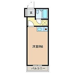 メゾンくわなM1[4階]の間取り