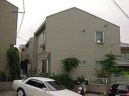 京都府宇治市神明宮東の賃貸アパートの外観