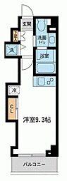 ミテッツァ矢向[0106号室]の間取り