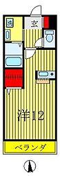 コガネハラーゼII[2階]の間取り