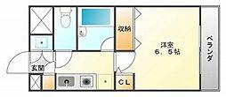 カームコート[3階]の間取り