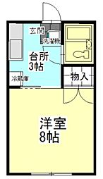 安積永盛駅 2.6万円