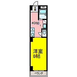 HOUSE108筒井[305号室]の間取り