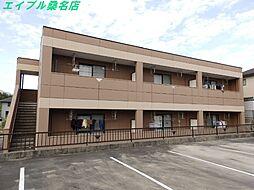 三重県桑名市神成町1丁目の賃貸アパートの外観