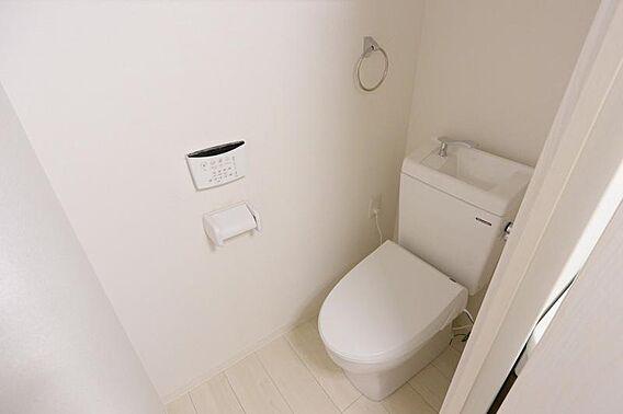 トイレ  温水...