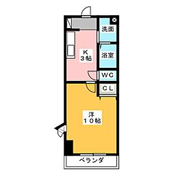 立華苑[2階]の間取り