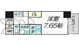 S-RESIDENCE西天満 Grand jour 9階1Kの間取り
