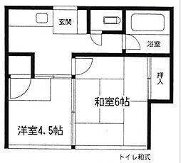 金子一郎荘[103号室号室]の間取り