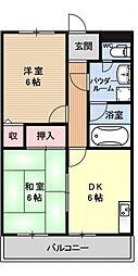T'sサニーコーポ1[105号室号室]の間取り