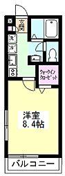 ドムスソラリスII[1階]の間取り