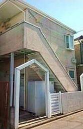 神奈川県川崎市多摩区宿河原5丁目の賃貸アパートの外観