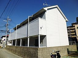 兵庫県伊丹市西野1丁目の賃貸アパートの外観