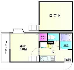 MIUハウス[1階]の間取り