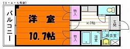 アドヴァンスFUKUSUI[1階]の間取り