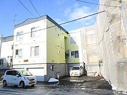 北海道札幌市東区北十四条東10丁目の賃貸アパートの外観