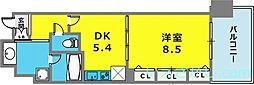 KAISEI神戸海岸通第2[2階]の間取り