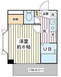コートアネックスIII[4階]の間取り