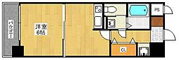 ピュアドームスタシオン箱崎[2階]の間取り