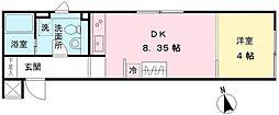 LAPiS武蔵小金井III[2階]の間取り