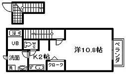 ファシルカワト 2[203号室]の間取り