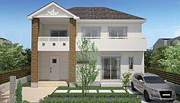 外観:建物価格1600万円、建物面積99.15?。印象的なトラディショナルテイストの外観:デザイン