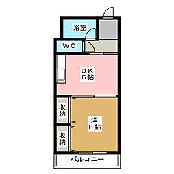 第一正美堂ビル[4階]の間取り