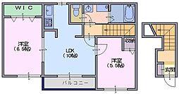 サンシャイン富堂2[2階]の間取り