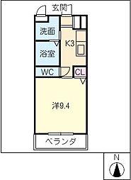 テージスII[2階]の間取り