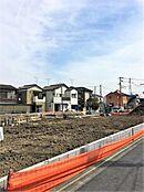 駅周辺は開発分譲地が多く立ち並び、人気エリア。