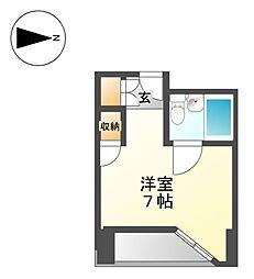 ベルモア堀詰[11階]の間取り