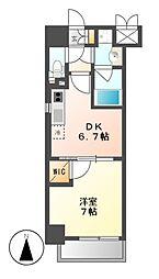 MX−1 エムエックスワン[3階]の間取り
